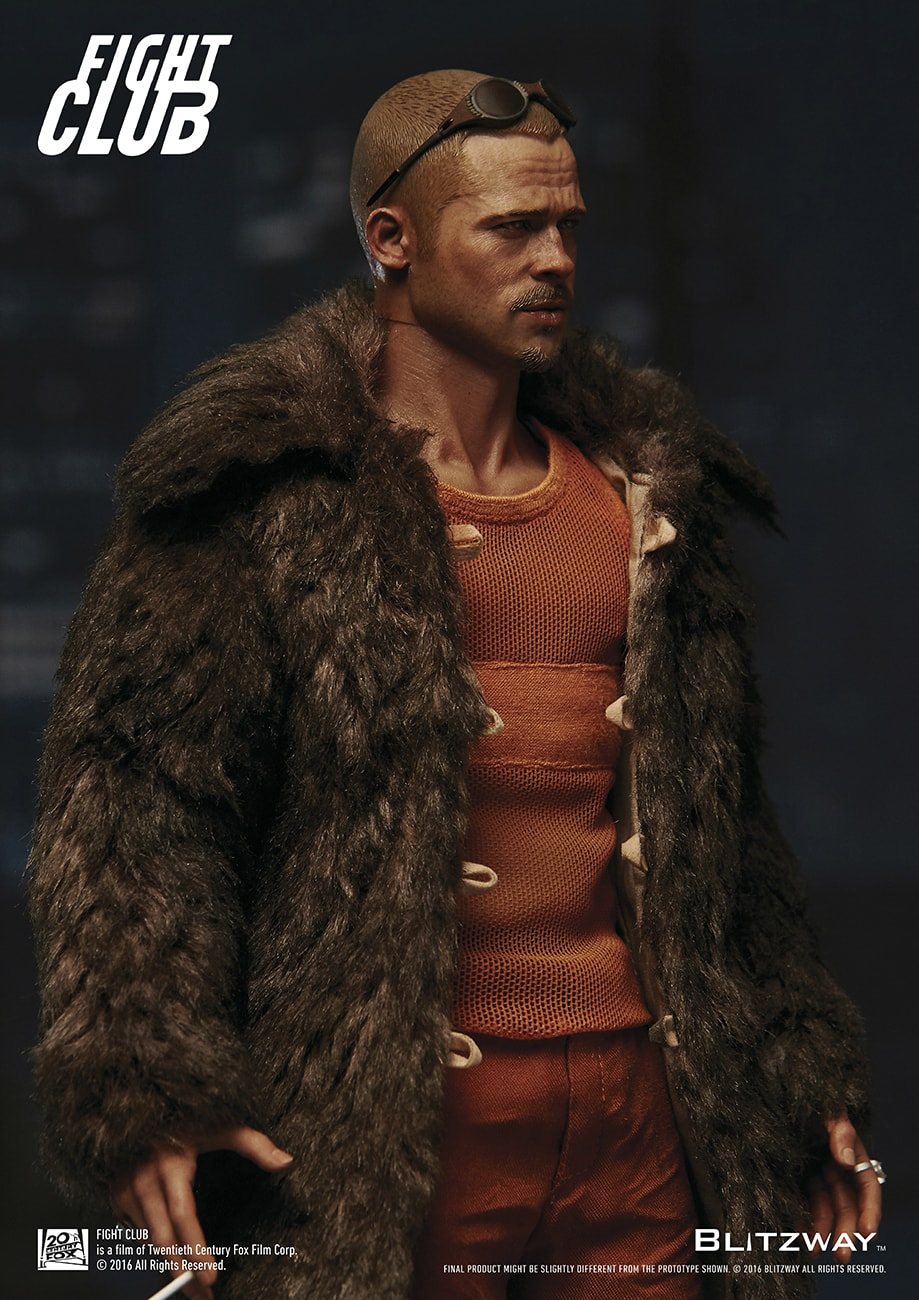 Fight Club - Tyler Durden Fur Coat Ver.