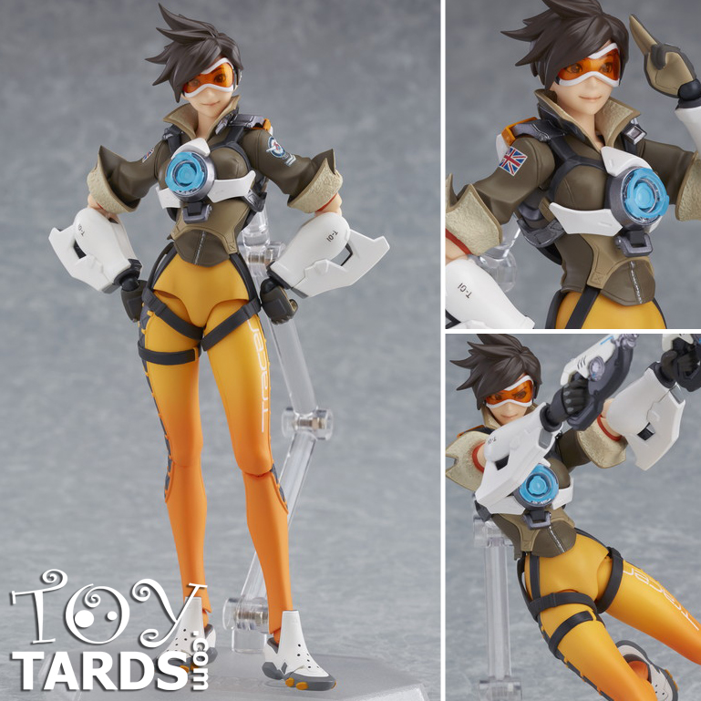 Figma: Overwatch - Tracer