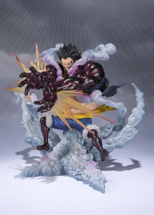[Pre-Order] Figuarts Zero One Piece - Monkey D. Luffy -Gear 4 Leo Bazooka - Click Image to Close