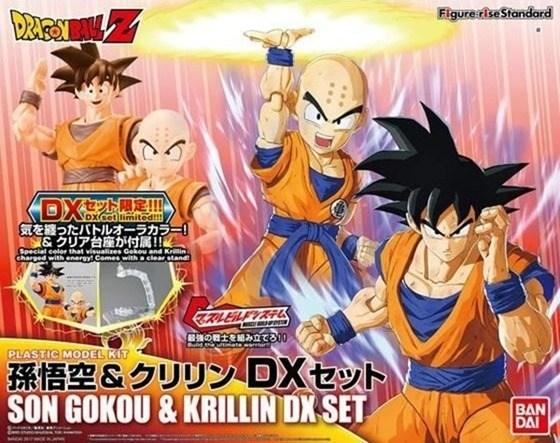 Figure-rise Standard: Dragon Ball Z - Krillin & Goku DX Set