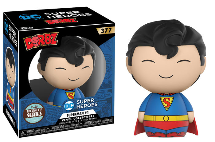[Pre-Order] Dorbz Specialty Series: Superman Comics Book #1