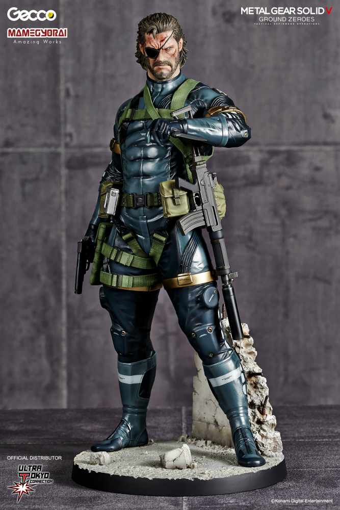 Metal Gear Solid V: Ground Zero - Snake 1/6 Scale Statue