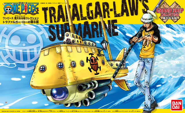 Grand Ship Collection - 02 Trafalgar Law's Submarine