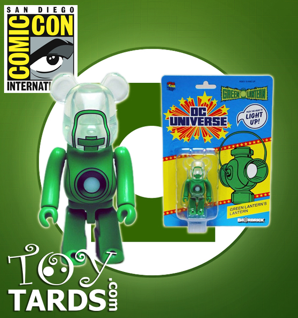 2011 SDCC Green Lantern Movie Light-Up Bearbrick