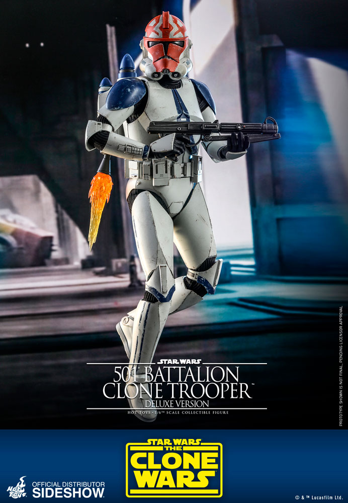 [Pre-Order] The Clone Wars - 501st Battalion Clone Trooper Deluxe Ver. Movie Masterpiece
