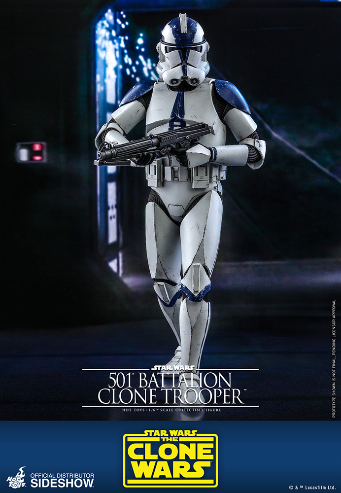 [Pre-Order] The Clone Wars - 501st Battalion Clone Trooper Movie Masterpiece