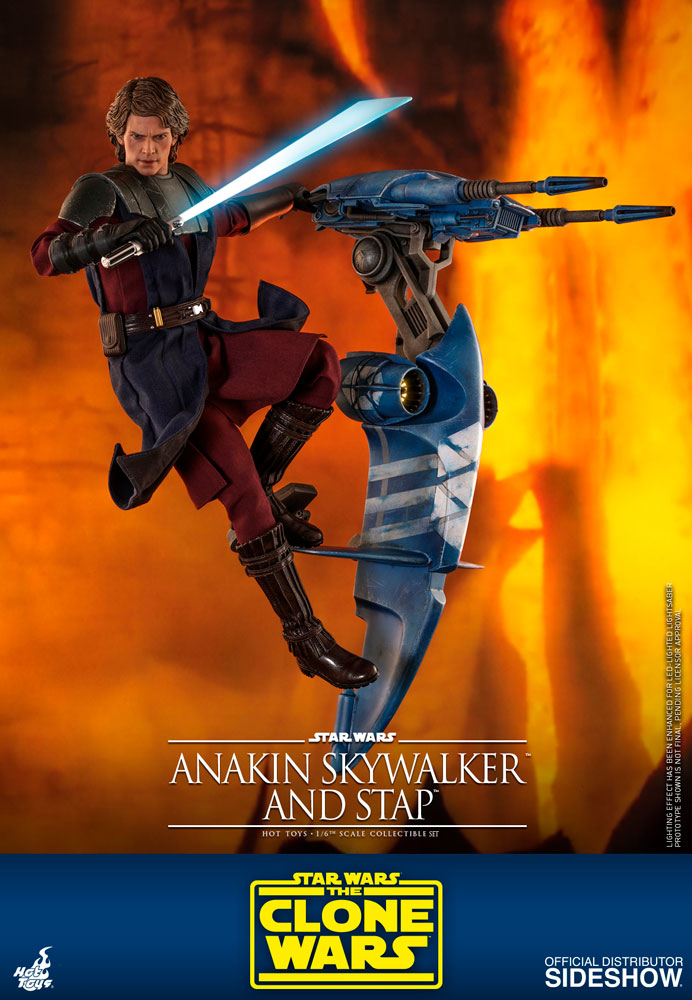 [Pre-Order] The Clone Wars - Anakin Skywalker and STAP Movie Masterpiece Set