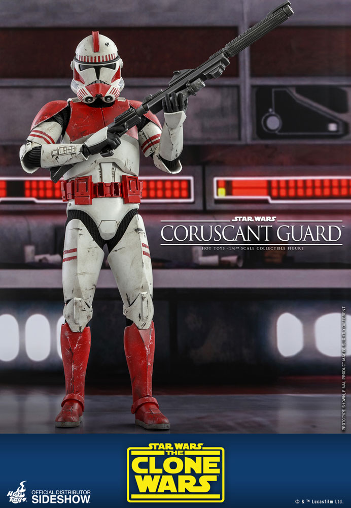 [Pre-Order] The Clone Wars - Coruscant Guard Movie Masterpiece