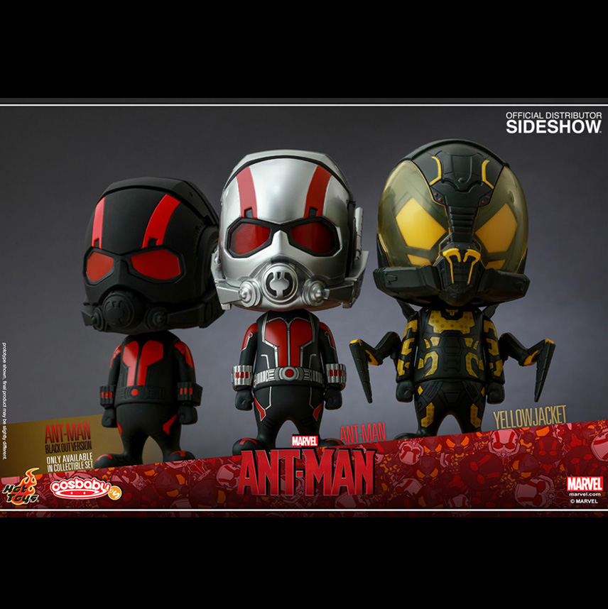 Ant-Man Cosbaby Series 1 Set of 3