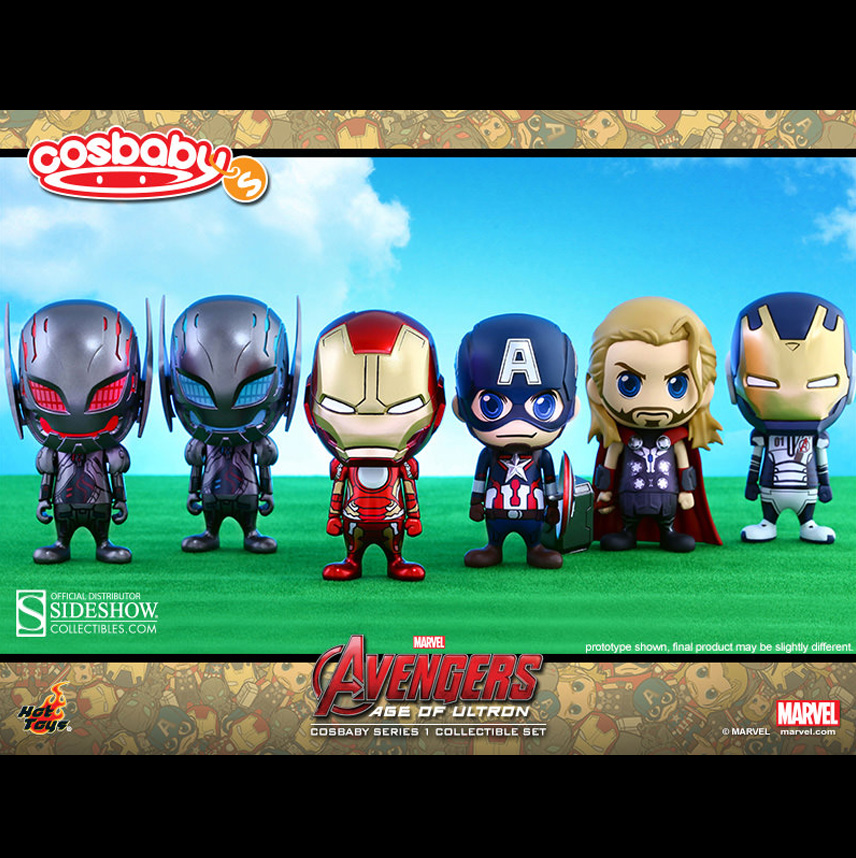 Cosbaby Series 1 : Avengers: Age of Ultron Collectible Set