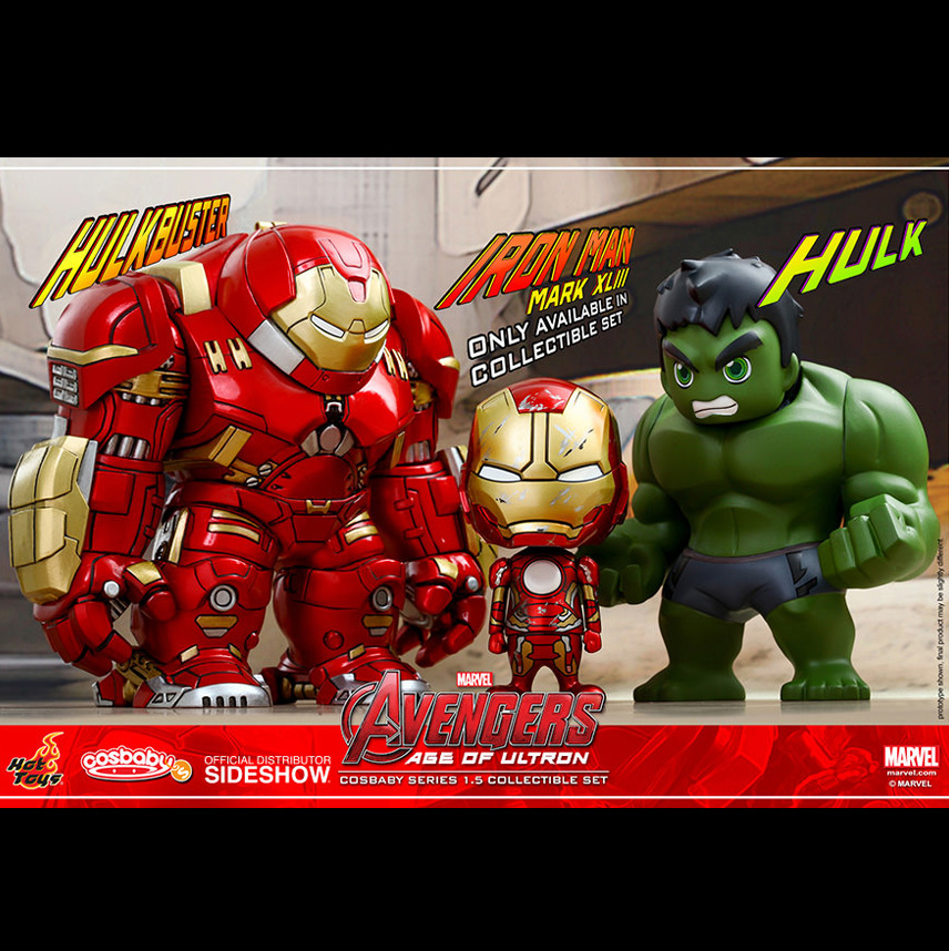 Cosbaby Series 1.5 : Avengers: Age of Ultron Collectible Set