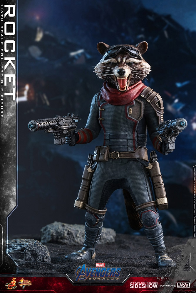 [Pre-Order] Avengers: Endgame - Rocket Movie Masterpiece - Click Image to Close