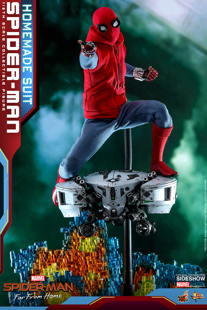 [Pre-Order] Spider-Man Far From Home - Spider-Man (Homemade Suit) Movie Masterpiece