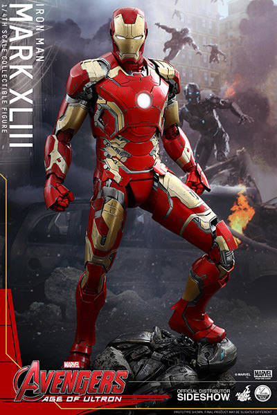 Avengers: Age of Ultron - Iron Man Mark XLIII Quarter Scale Series