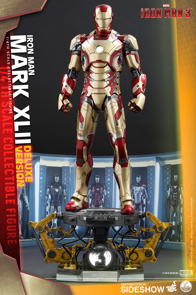 Avengers: Age of Ultron - Iron Man Mark XLII Deluxe Quarter Scale Series