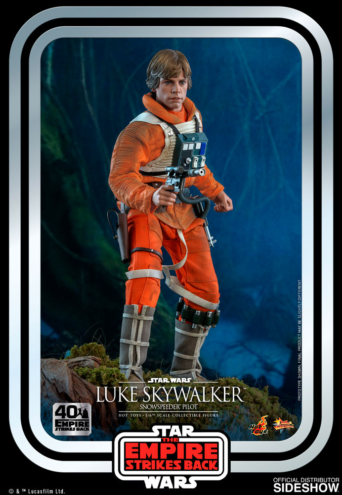 [Pre-Order] Episode V The Empire Strikes Back 40th Anniversary - Luke Skywalker Snowspeeder Pilot Movie Masterpiece