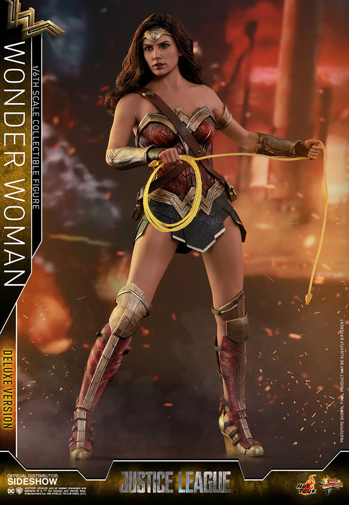 [Pre-Order] Justice League - Wonder Woman Deluxe Version Movie Masterpiece - Click Image to Close
