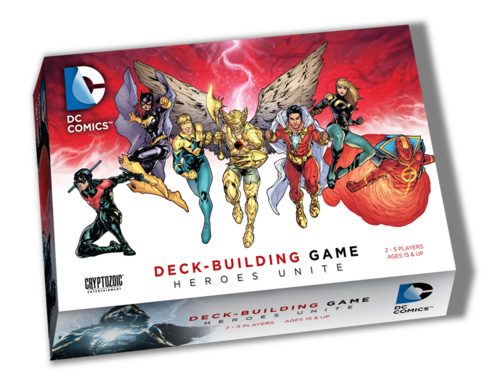DC Deck Building Game 2 Heroes Unite