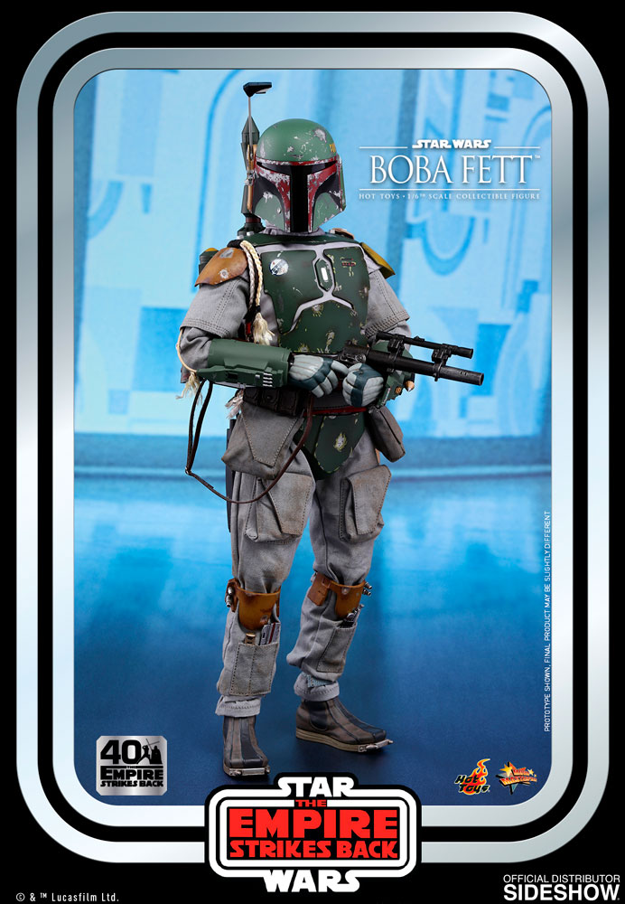 [Pre-Order] Episode V The Empire Strikes Back 40th Anniversary - Boba Fett Movie Masterpiece