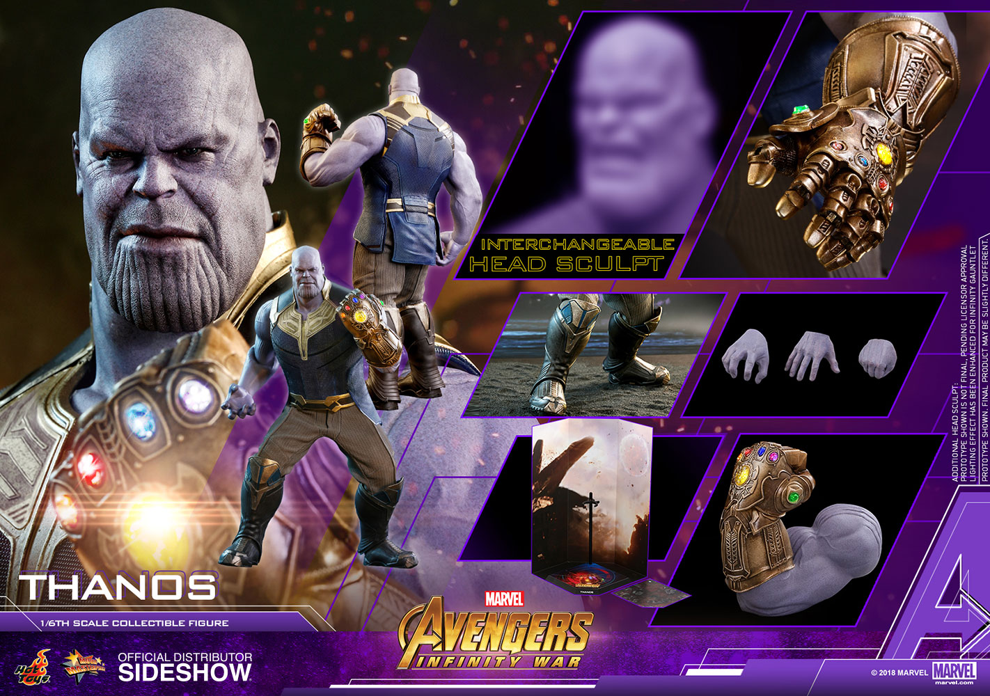[Pre-Order] Avengers: Infinity War - Thanos Movie Masterpiece