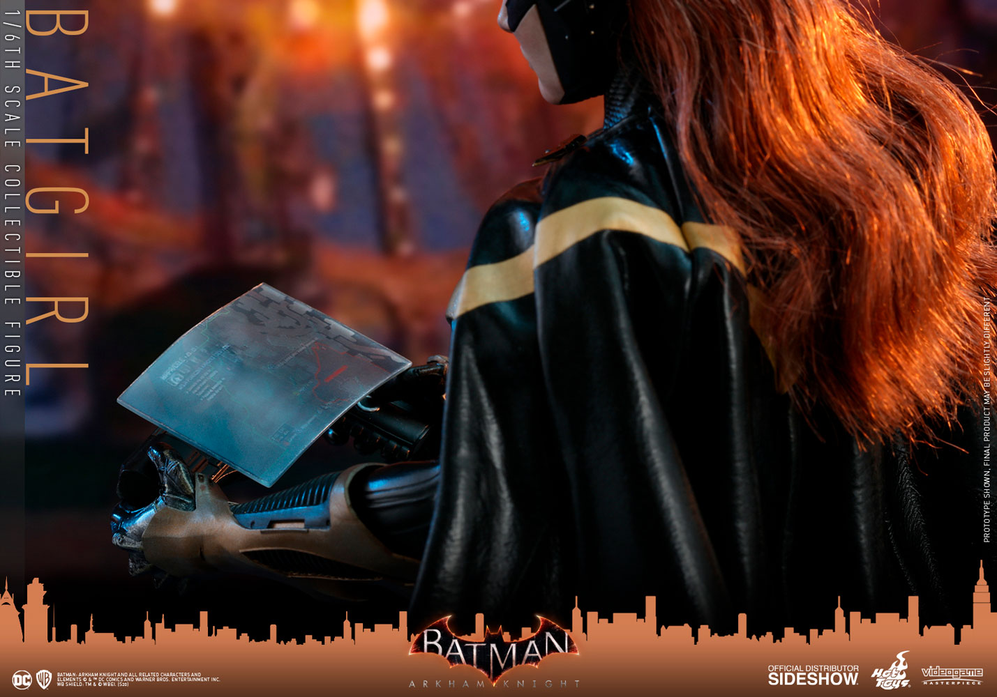 [Pre-Order] Batman: Arkham Knight - Batgirl Video Game Masterpiece - Click Image to Close