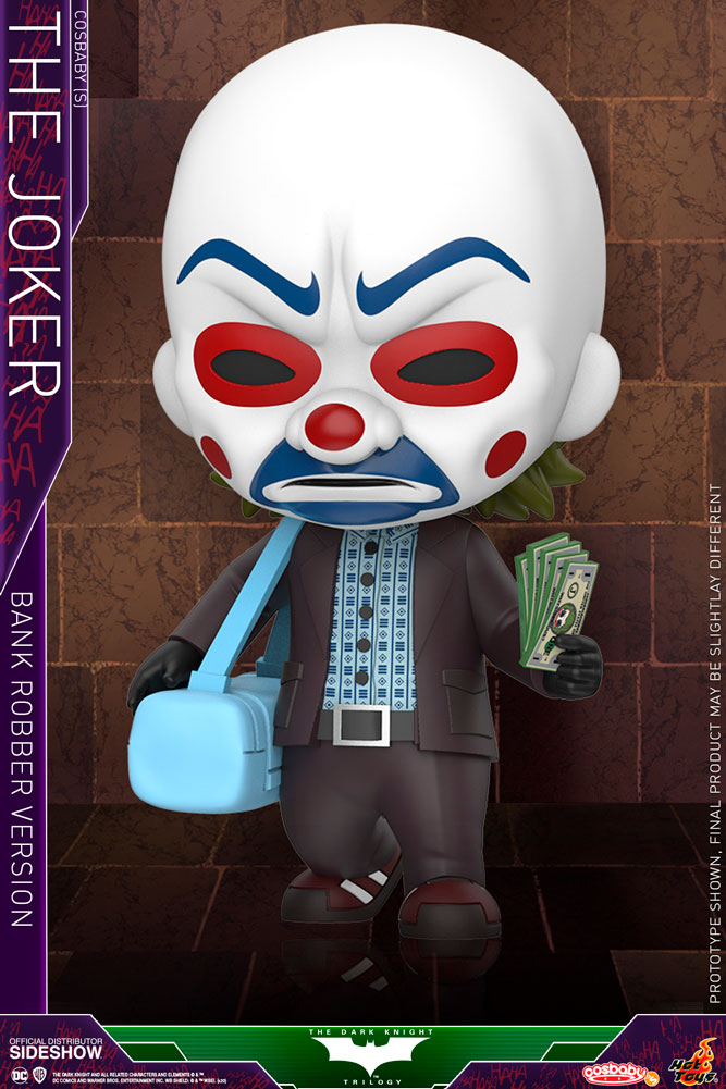 Cosbaby: Dark Knight - Joker (Bank Robber Version)