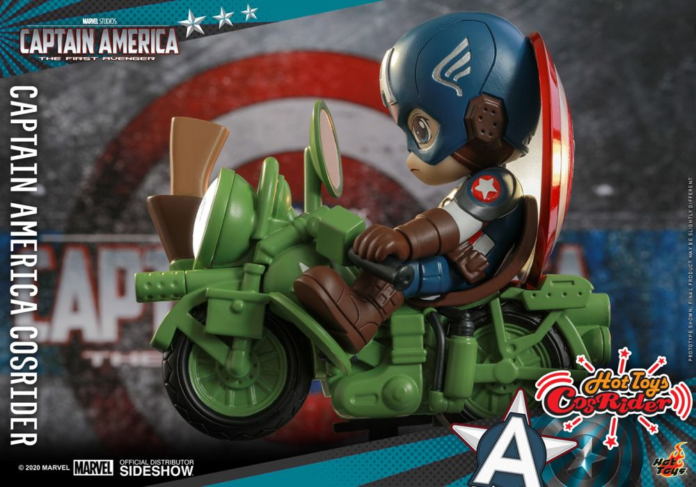 [Pre-Order] CosRider - Captain America Collectible Figure