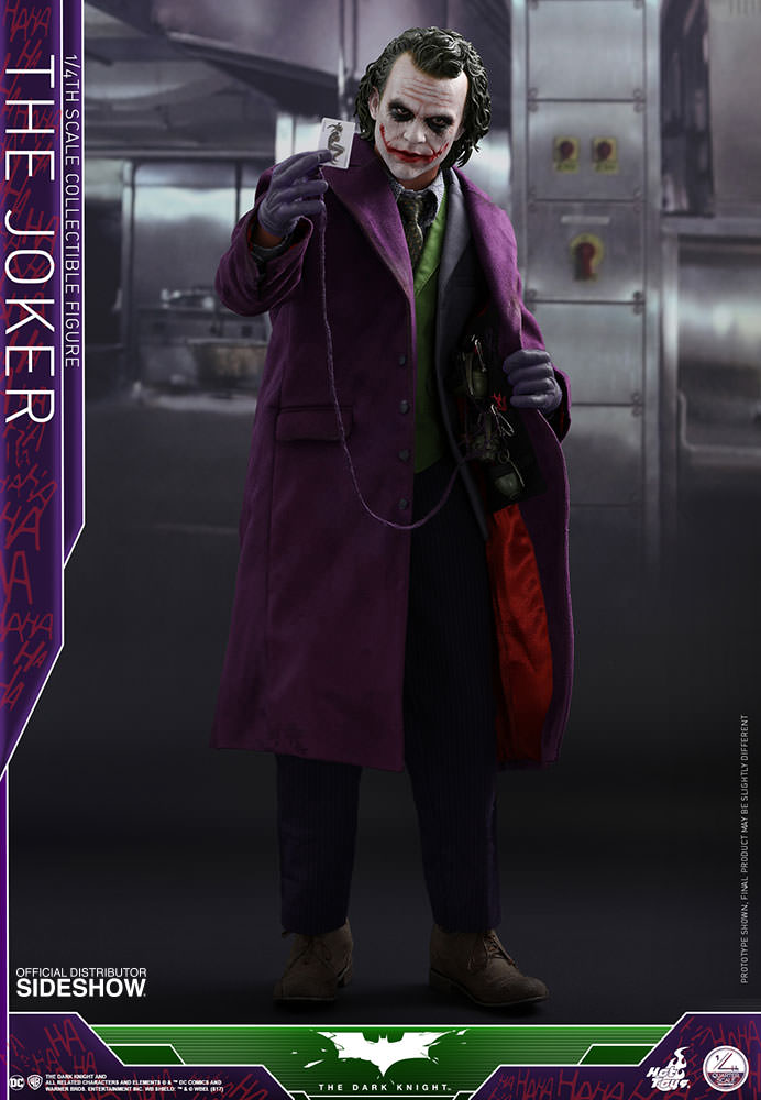 [Pre-Order] The Dark Knight - Joker Quarter Scale Series