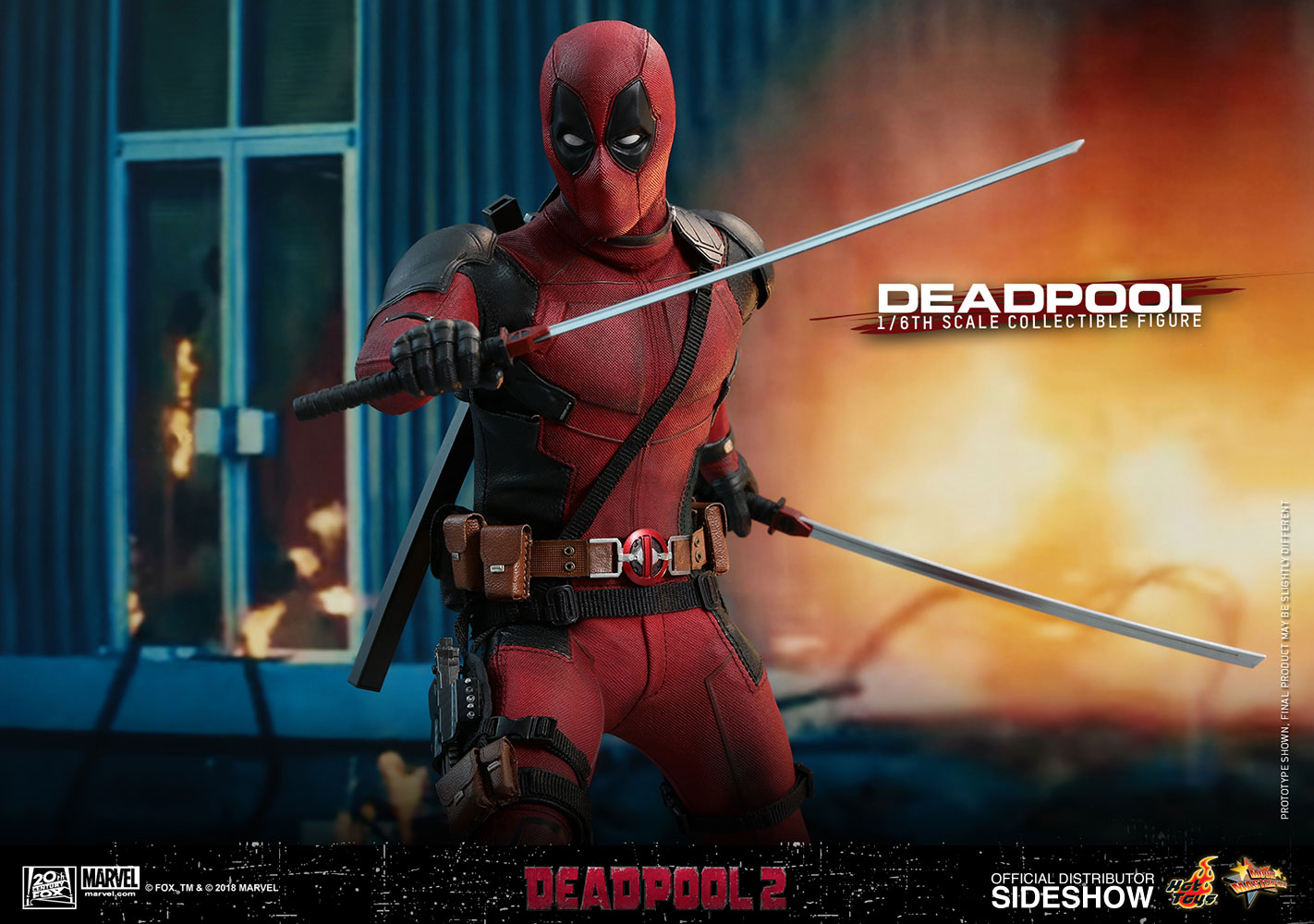 [Pre-Order] Deadpool 2 - Deadpool Movie Masterpiece