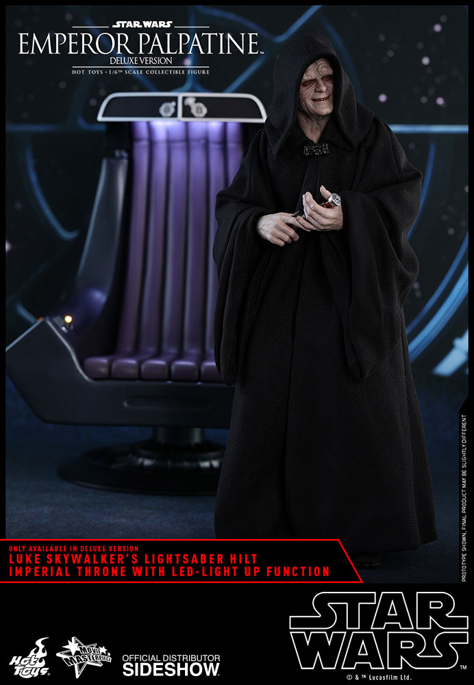 [Pre-Order] Episode VI Return of the Jedi - Emperor Palpatine Deluxe Movie Masterpiece