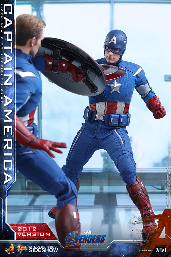 [Pre-Order] Avengers: Endgame - Captain America (2012 Version) Movie Masterpiece - Click Image to Close