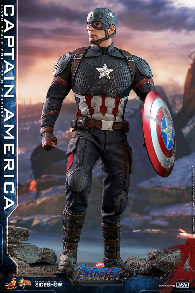 [Pre-Order] Avengers: Endgame - Captain America Movie Masterpiece