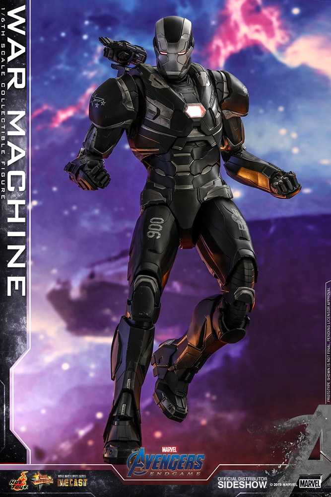 [Pre-Order] Avengers: Endgame - War Machine Diecast Movie Masterpiece