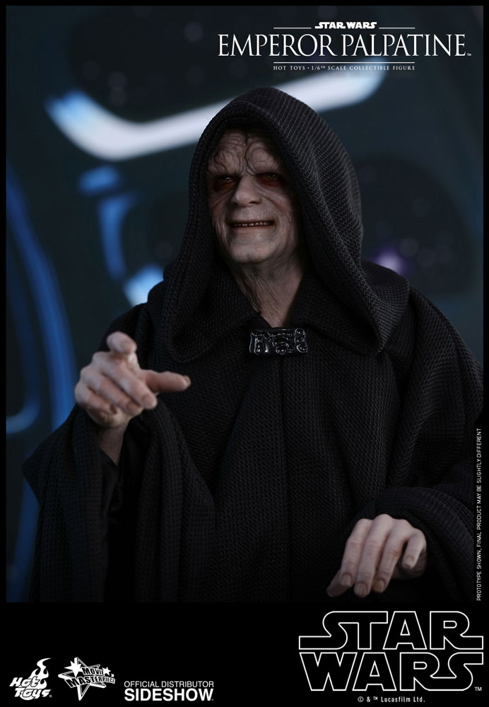 [Pre-Order] Episode VI Return of the Jedi - Emperor Palpatine Movie Masterpiece