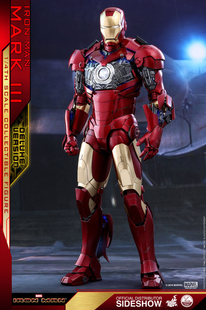 [Pre-Order] Iron Man Mark III Deluxe Version Quarter Scale Series