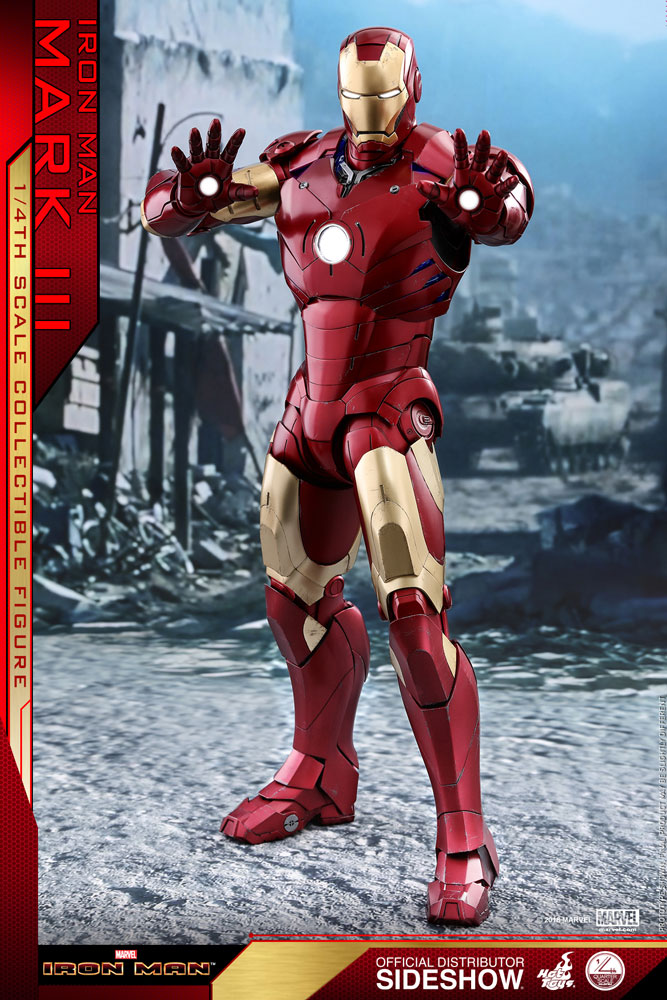[Pre-Order] Iron Man Mark III Quarter Scale Series