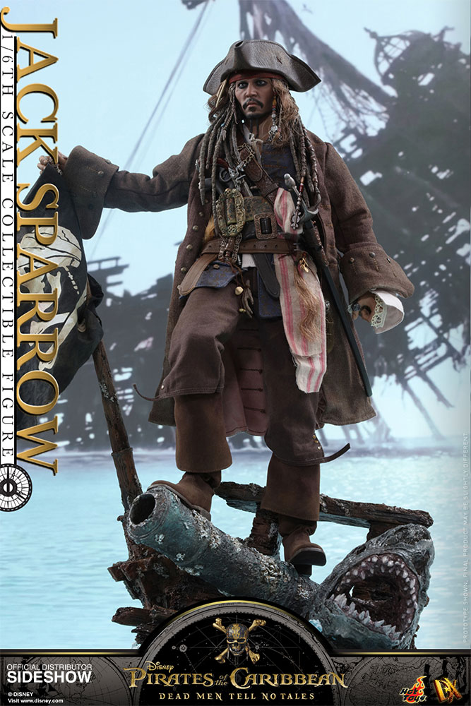 Pirates of the Caribbean: Dead Men Tell No Tales - Jack Sparrow Movie Masterpiece