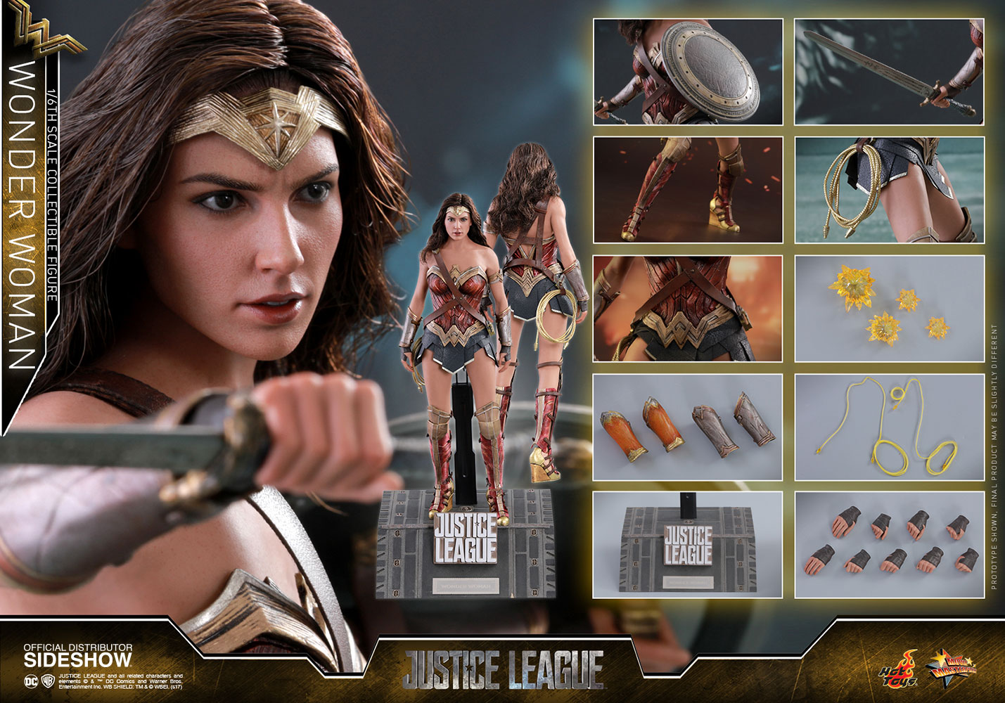 Justice League - Wonder Woman Movie Masterpiece