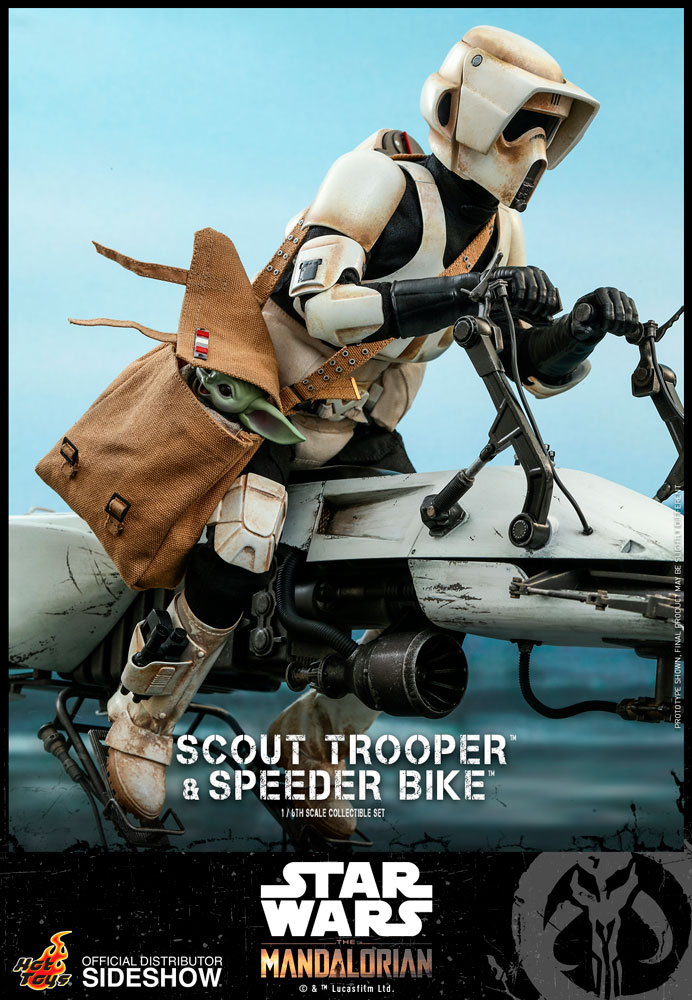 [Pre-Order] The Mandalorian - Scout Trooper and Speeder Bike Movie Masterpiece Set
