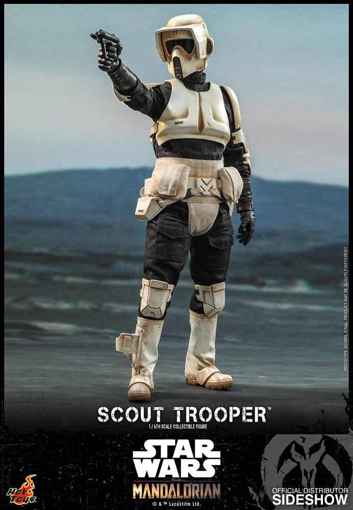[Pre-Order] The Mandalorian - Scout Trooper Movie Masterpiece