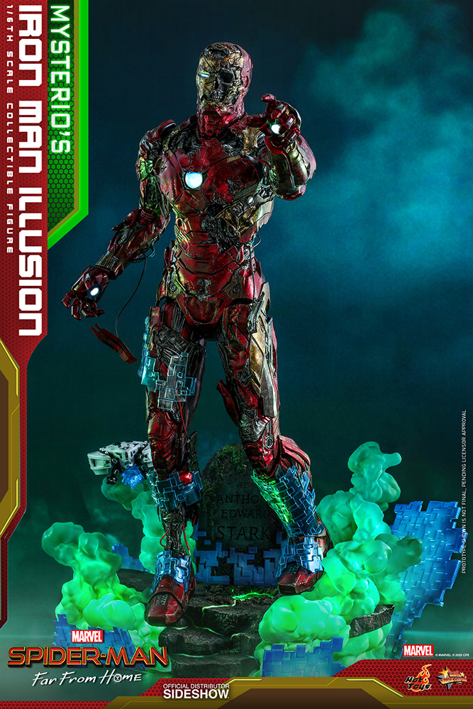 [Pre-Order] Spider-Man Far From Home - Mysterio's Iron Man Illusion Movie Masterpiece
