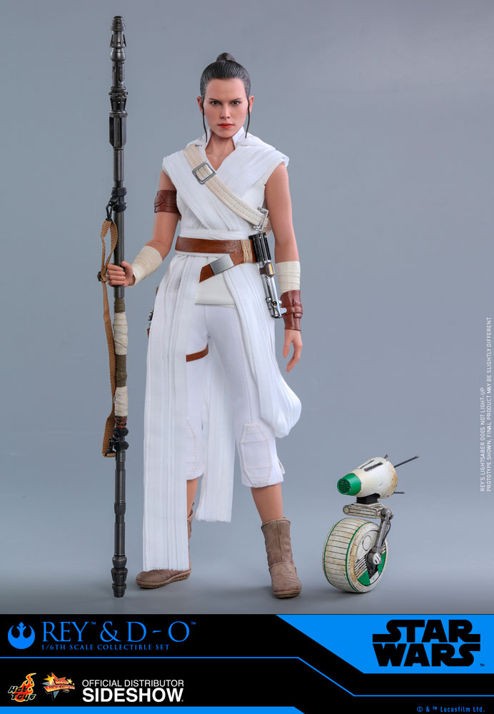 [Pre-Order] Episode IX The Rise of Skywalker - Rey and D-O Movie Masterpiece Set