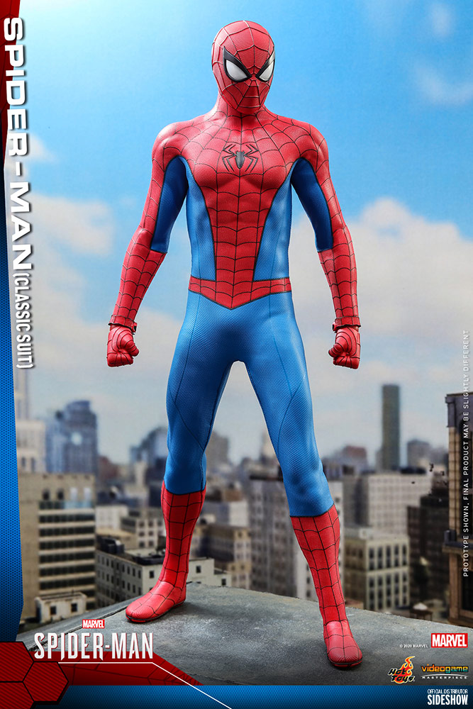 [Pre-Order] Spider-Man - Spider-Man (Classic Suit) Video Game Masterpiece