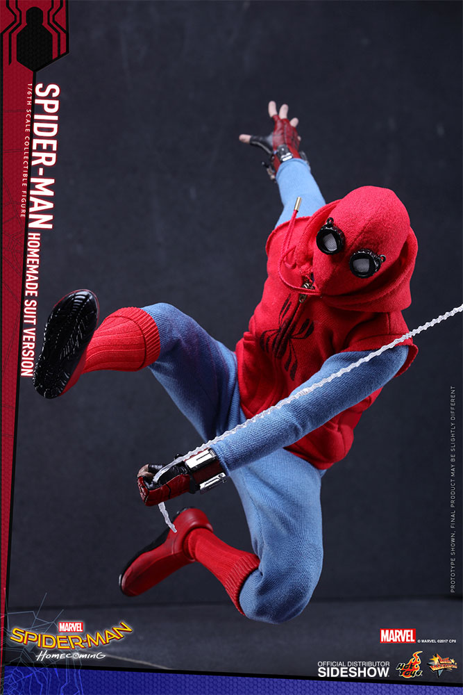 [Pre-Order] Spider-Man Homecoming - Spider-Man Homemade Suit Ver. Movie Masterpiece