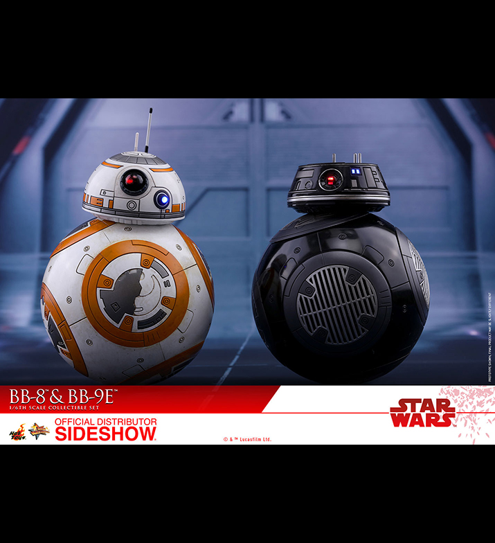 [Pre-Order] Episode VIII The Last Jedi - BB-8 and BB-9E Movie Masterpiece