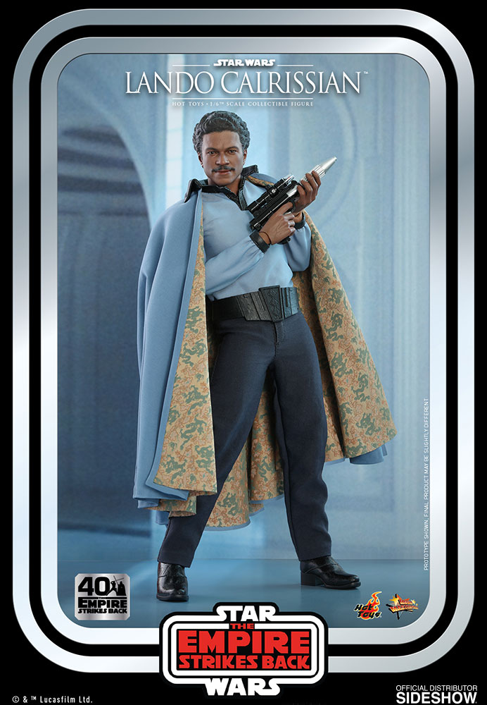 [Pre-Order] Episode V The Empire Strikes Back 40th Anniversary - Lando Calrissian Movie Masterpiece
