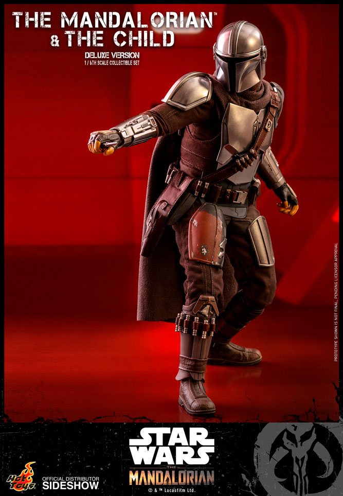[Pre-Order] The Mandalorian - The Mandalorian and The Child (Deluxe) Movie Masterpiece Collectible Set