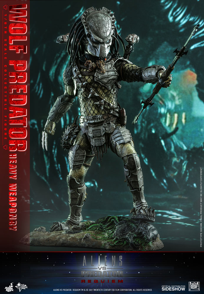 [Pre-Order] AVP Requiem - Wolf Predator Heavy Weaponry Movie Masterpiece