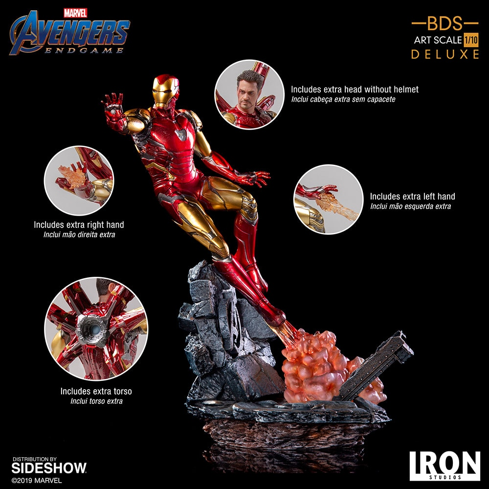 [Pre-Order] Art Scale 1:10 Battle Diorama Series: Iron Man Mark LXXXV Statue
