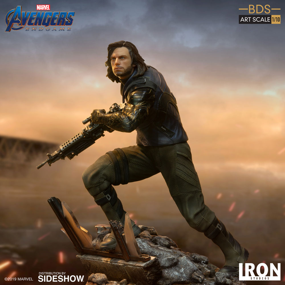 [Pre-Order] Art Scale 1:10 Battle Diorama Series: Winter Soldier Statue